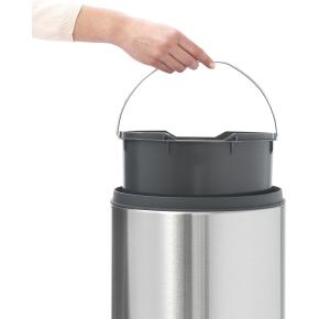 Brabantia Touch Bin 30 L, matt black FPP lid