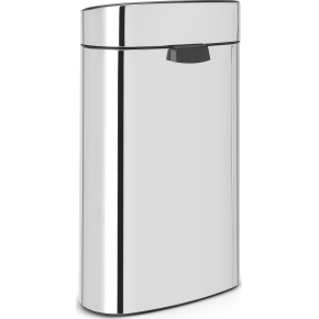 Brabantia Touch Bin 40 L, brilliant steel