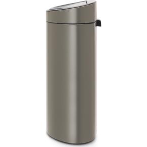 Brabantia Touch Bin 40 L, platinum