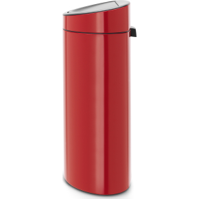 Brabantia Touch Bin 40 L, passion red