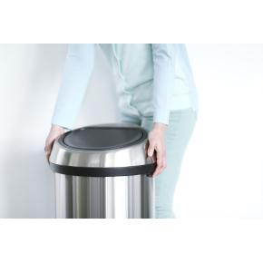 Brabantia Touch Bin 60 L, platinum, FPP lid