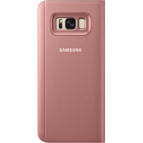 Samsung Galaxy S8+ Clear View Cover, rosa