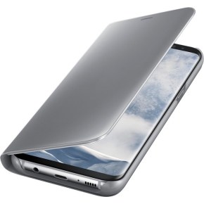 Samsung Galaxy S8+ Clear View Cover, sølv