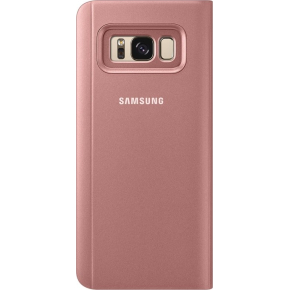 Samsung Galaxy S8 Clear View Cover, rosa