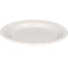 Plast middagstallerken Ø. 23cm, kant