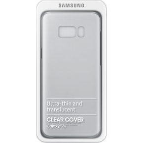 Samsung Galaxy S8+ Clear cover, transparent sølv