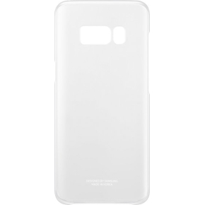 Samsung Galaxy S8 Clear cover, transparent sølv