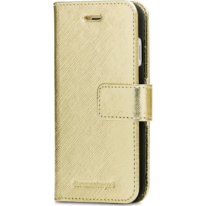 dbramante1928 New York lædercover t/iPhone7, Gold