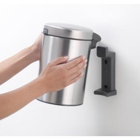 Brabantia Affaldsspand 3 L t. væg, brilliant steel