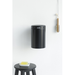 Brabantia Affaldsspand 3 L t. væg, matt black