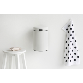 Brabantia Affaldsspand 3 L t. væg, white