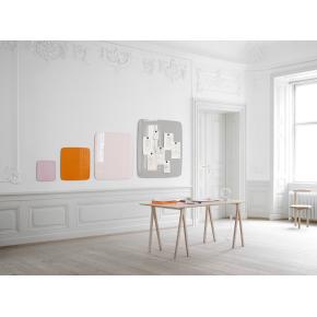 Lintex Mood Flow, 125 x 100 cm, lysegrå Shy