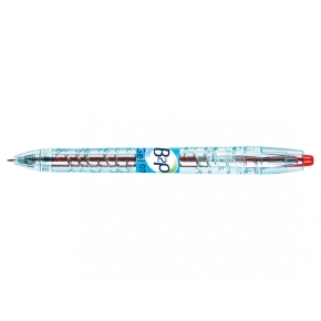 Pilot Begreen Bottle 2 Pen gelpen 0,7mm, rød