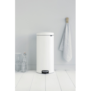 Brabantia Pedalspand, 30L, eternal white