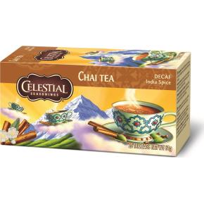 Celestial Chai te - koffeinfri te, 20 breve