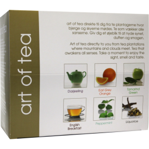Art of tea luksus blandet te 6x5 breve