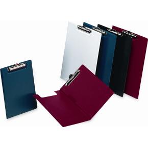 Bantex clipboard A4, med omslag, blå