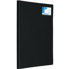 Bantex Demomappe A3 højformat, 20 lommer, sort