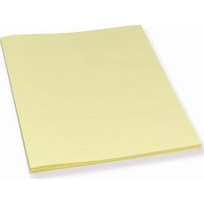 Bantex konceptpapir gult, linjeret, 250 stk.