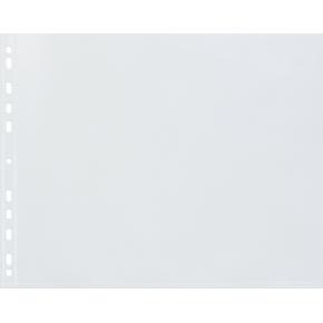 Bantex lomme A3, PP, 0.12mm, tværformat, 25stk