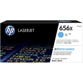 HP 656X/CF461X Lasertoner, blå, 22000s