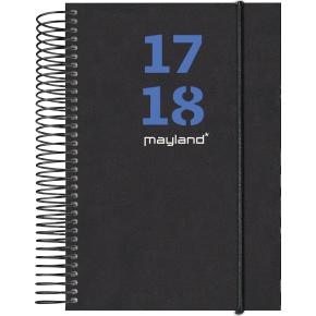 Mayland studiekalender, 1 dag, 2 farvede blade
