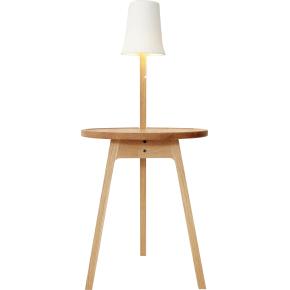 C2 lampebord, Olieret eg, Ø45 cm
