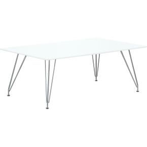 DK10 Sofabord, Hvid, 120x70 cm