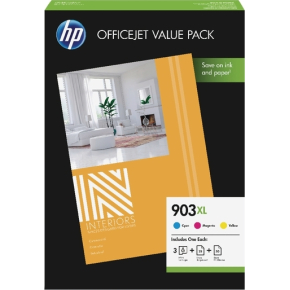 HP 903XL Officejet value pack, 825s