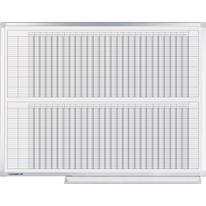 Legamaster Professional Year Planner, 90x120 cm