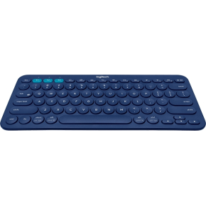 Logitech K380 Bluetooth Keyboard(Nordisk), sort