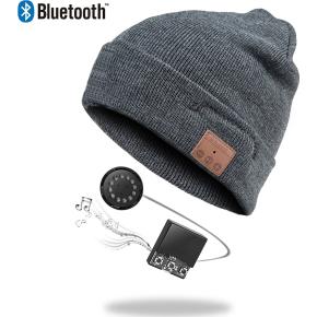 Zmartgear hue med bluetooth headset, Grå