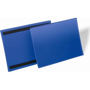 Durable Lagerlommer m/magnet, A4 tværformat