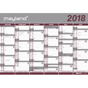 Mayland Kæmpekalender 2x6 mdr.