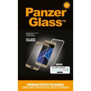 PanzerGlass PREMIUM Samsung S7 Gold w/Edgegrip