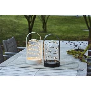 Arthur lanterne, Sort, H 37 cm, 40 LED lys