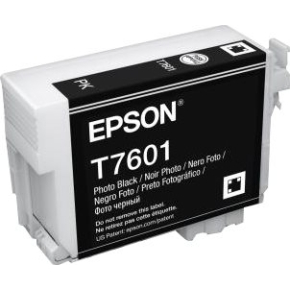 Epson T76014010 blækpatron 26ml, sort (foto)