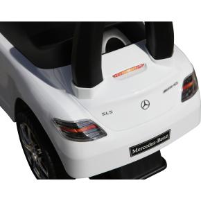 Mercedes SLS AMG gåbil, hvid