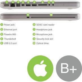 "Refurbished Apple MacBook Pro 15"", 160GB grey (B+)"