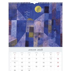 Mayland Vægkalender, 12 måneder, Kunstmotiver