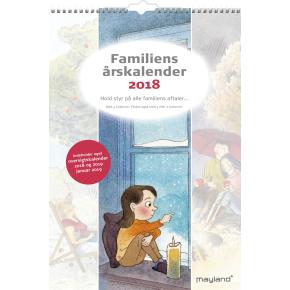 Mayland Familiens Årskalender, m.illu., 4 kolonner