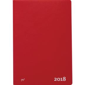 Mayland City Diplomat ugekalender, vinyl, rød