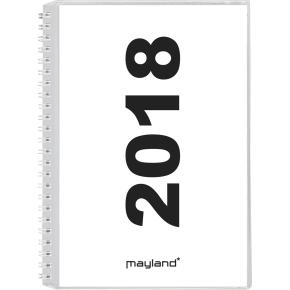 Mayland A5 ugekalender, højformat, m/4 illu.er