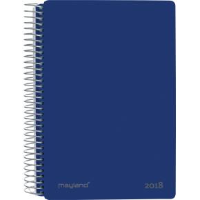 Mayland Spiralkalender, dag, blå