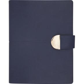 Mayland Spiralkalender, dag, mappe i mørkblå kunst