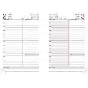 Mayland System MM dagkalender, kunstskind, sort