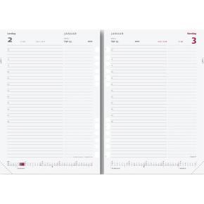 Mayland System A5 dagkalender, REFILL