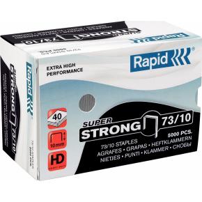 Rapid SuperStrong hæfteklammer 73/10, 5000 stk.