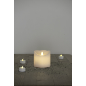 Sara Exclusive Spa LED lys, Hvid, H 9 x Ø 10 cm