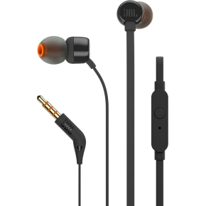 JBL T110 In-ear øretelefoner i sort